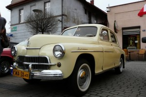 Zlot pojazdów zabytkowych - Andrychów 14.04.2012