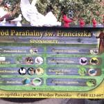 Ogród parafialny św. Franciszka w Andrychowie
