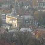 W tle wieża JRG Andrychów