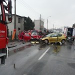Wypadek drogowy na ul. Krakowskiej w Andrychowie