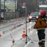 Wypadek drogowy na ul. Krakowskiej w Andrychowie - DK52