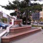 Fontanna na ul. Rynek w Andrychowie