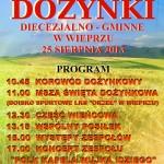 Dożynki diecezjalno-gminne w Wieprzu