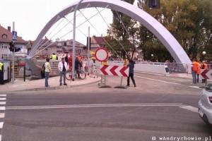 Otwarcie mostu w Andrychowie - 10.10.2013r.