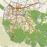 zobacz mapę gminy Andrychów