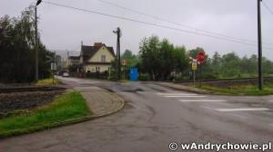 Wyremontowany przejazd kolejowy na ul. Tkackiej w Andrychowie
