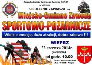 Zawody OSP w Wieprzu - 22.06.2014
