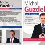 Michał Guzdek - plakat wyborczy