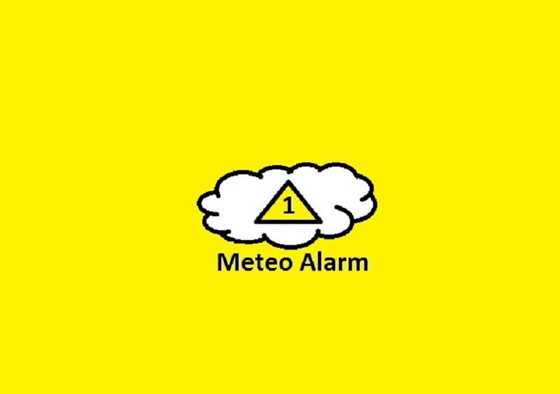 Ostrzeżenie meteorologiczne dla Andrychowa - 1 stopień