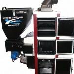 Kocioł na paliwo stałe z podajnikiem tłokowym - SpecStal.