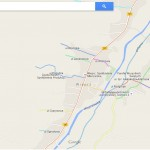 Mapa planowanych nazw ulic w gminie Wieprz