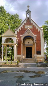 Kaplica na cmentarzu w Andrychowie - grób rodziny Kosvitzkych