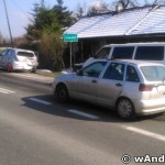 Zderzenie samochodów na DK52, granica Andrychów-Inwałd