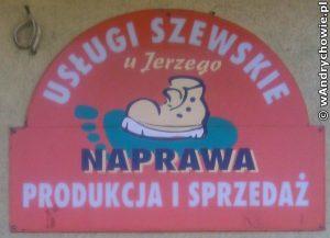 """Usługi szewskie i kaletnicze """"U Jerzego"""""""