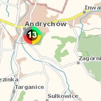 Policyjna mapa zagrożeń w Andrychowie