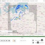 Serwis pogodynka.pl - mapa radarowa opadów dla Polski