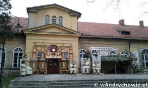 Szopki w pałacu Bobrowskich w Andrychowie