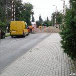 Remont przejazdu na ulicy Dąbrowskiego w Andrychowie