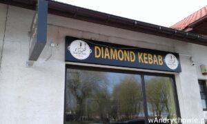 Diamond Kebab w Andrychowie na ul. Włókniarzy. Lokal gastronomiczny na osiedlu w Andrychowie, w pobliżu kościoła i Intermarche. Kebaby, tortille, wegetariańskie i dla dzieci. Na miejscu i na wynos.